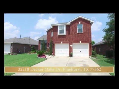 32218 Decker Oaks Dr, Pinehurst, TX 77362