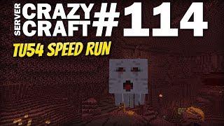 MINECRAFT Xbox - TU54 Speed Run [ Nether ] CRAZY CRAFT #114 - Lets Play - PS4 / Switch / PE
