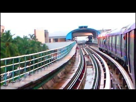 East West Metro Trial Run Part 3 : Karunamoyee to Sector V  Kolkata Metro