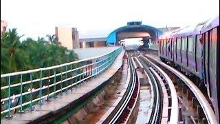 East West Metro Trial Run Part 3 :- Karunamoyee to Sector V    Kolkata Metro