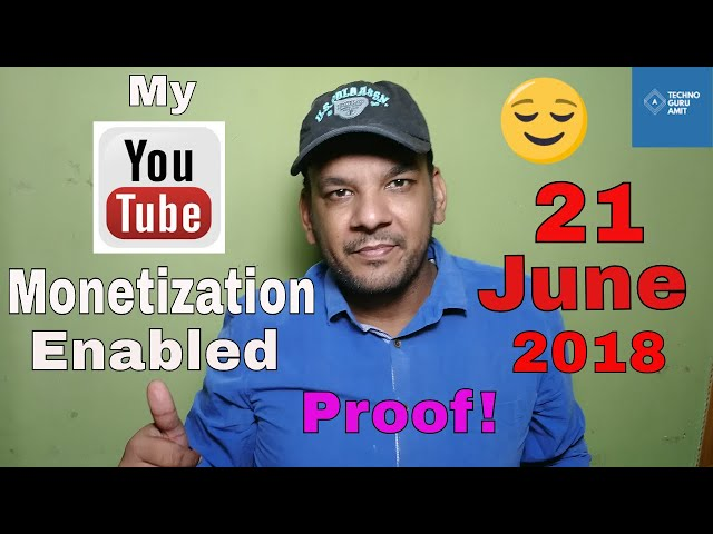 Youtube monetization 2018 is now enabled on my channel || Took 4 Months only