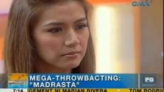 UH Throwbacting Challenge: Rhea Santos acts out a scene in