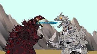 GODZILLA 2: King of the Monsters Teaser - GODZILLA VS KIRYU (Part 3)