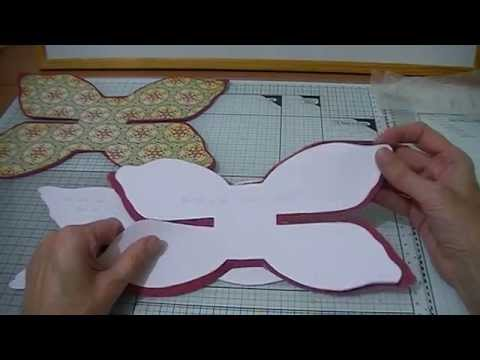 Bow template tutorial youtube for Template of a bow