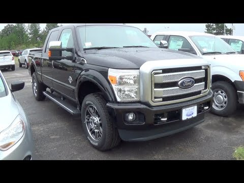 2014 ford f 250 super duty platinum 4x4 walkaround youtube. Black Bedroom Furniture Sets. Home Design Ideas