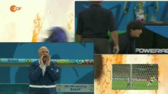 WM 2014 Halbfinale Brasilien vs Deutschland 1 - 7 ALLE TORE