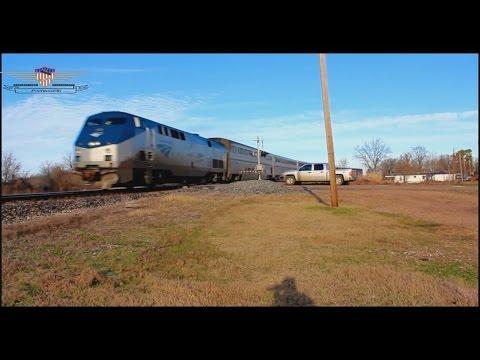"Southbound Amtrak ""City of New Orleans"" #59-Glendora, Mississippi"