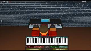 Wings of Piano - Love Infinity by: V.K on a ROBLOX piano. [Medium/Hard]
