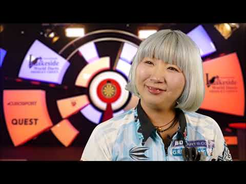 Mikuru Suzuki Knocks Out 4x BDO World Champion Lisa Ashton on the Lakeside Oche