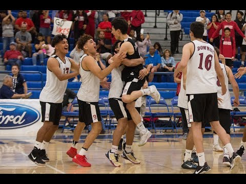 Highlight Mix: Downey beats Tustin for CIF volleyball crown