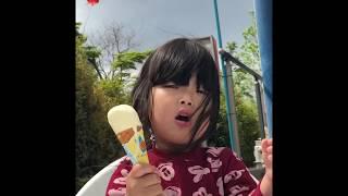 公園近くのベンチでアイスクリーム片手に日頃の鬱憤を晴らす! 主演 ボ...