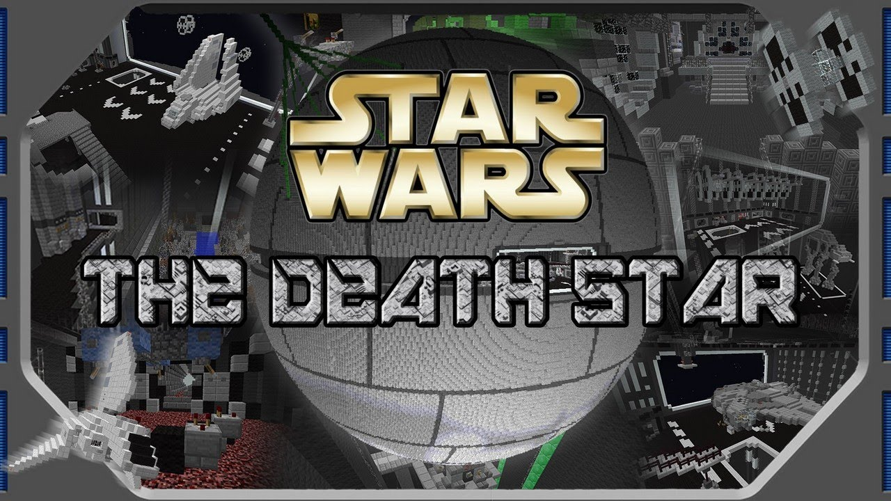 MINECRAFT STAR WARS The Death Star DOWNLOAD NOW YouTube - Star map now