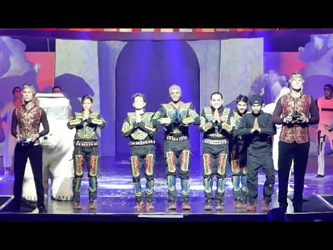 Show in Harbin China | Tron Led Dance | Skeleton Dance Crew