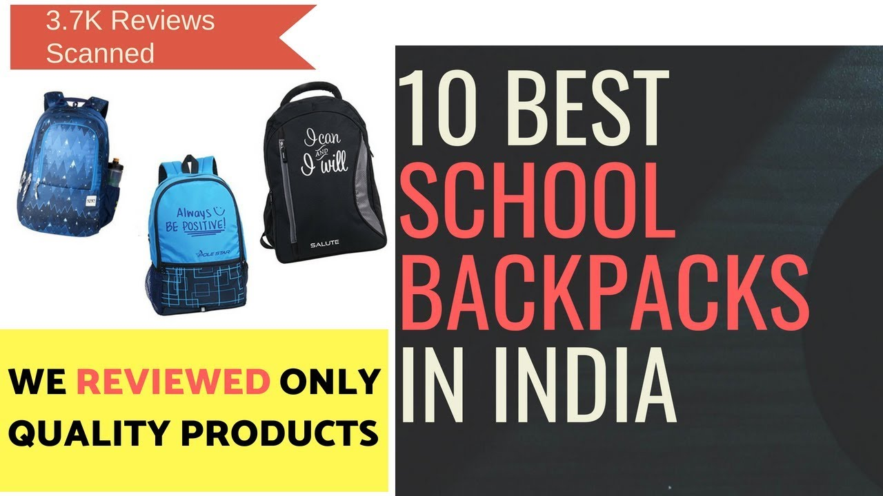 56e51dbdfc68 10 Best School Backpacks In India With Price