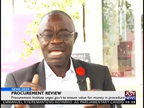 Procurement Review - News Desk on JoyNews (31-12-18)