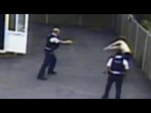 CCTV shows police using stun gun on man with autism