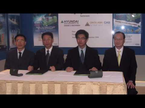 Cinta Asia - Exhibiting @ Asia Pacific Maritime 2008 - USD20.8 Million Contract Signing Ceremony