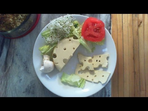 High Raw Vegan SWISS CHEESE, awesome!!!!!