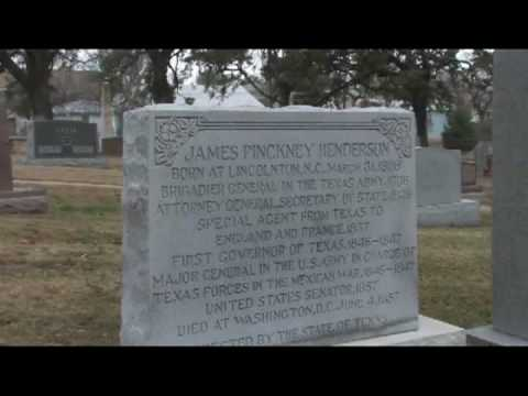 Austin, Texas Tourism : Texas State Cemetery in Austin: Requirements for Burial