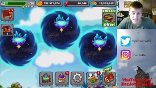 [LIVESTREAM] DragonVale: Gemming Level 0 to MAX LEVEL in ONE SITTING! Unlimited Gems $$$ (Part 1)