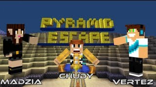 minecraft escape vertez madzia chudy pyramid escape