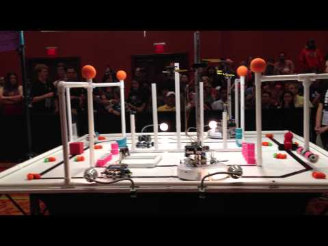 Dead Robot Society vs Southwest Covenant School (GCER 2013)