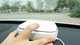 Máy lọc không khí trên ô tô - lọc bụi mịn và khử mùi thuốc lá