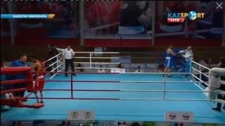 Аманкул А. (Жамб) - Жумагулов Р. (Кост) конец 3-го раунда, объявление победителя 24 ноября 2016 г.