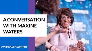 A conversation with maxine waters, us representative, california