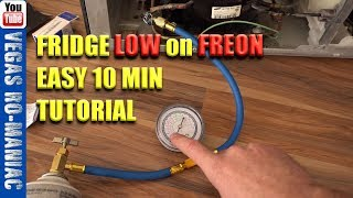 How to Add Freon To Your Refri…