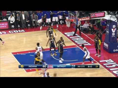 Indiana Pacers vs Detroit Pistons | December 12, 2015 | NBA 2015-16 Season