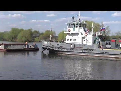 видео: Разные теплоходы в Бронницах