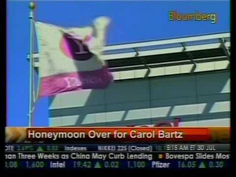 Honeymoon Over For Carol Bartz - Bloomberg