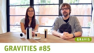 Sicherheitskameras: Withings Home, Logitech Circle, Netatmo Welcome, Canary - GRAVITIES #85