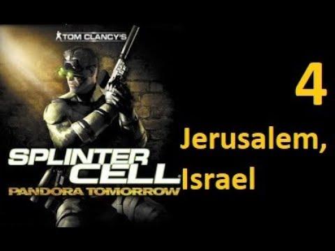 Splinter Cell: Pandora Tomorrow (2004) Stealth Walkthrough [HARD] - Mission 4 - Jerusalem, Israel