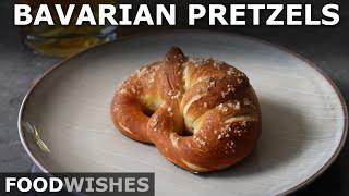 World Famous Bavarian Preтzels - Oktoberfest Special - Food Wishes