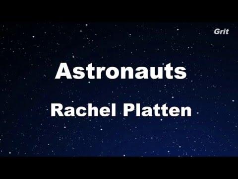 Astronauts - Rachel Platten Karaoke 【No Guide Melody】Instrumental