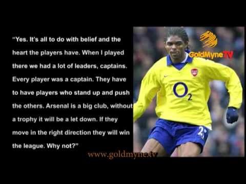 ARSENAL PLAYERS NEEDS TO SEE THEMSELVES AS CAPTAINS - KANU NWANKWO