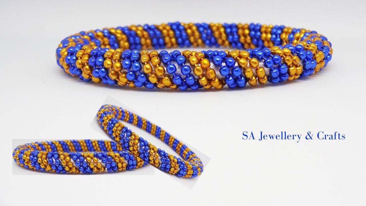 How to make silk thread designer bangles | Designer Bangles