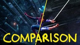 The Amazing Spider-Man 2 Trailer - Homemade Side by Side Comparison