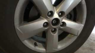 замена ступицы на Nissan Quasqui не вытаскивая датчик АБС