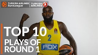 Turkish Airlines EuroLeague Regular Season Round 1 Top 10 Plays
