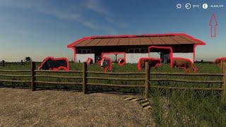 Farming Simulator 19 kupujemy zwierzęta .Krowy na  wypasie