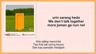 HEIZE - WE DON'T TALK TOGETHER (Ft. Giriboy) Easy Lyrics + Indo Sub by GOMAWO