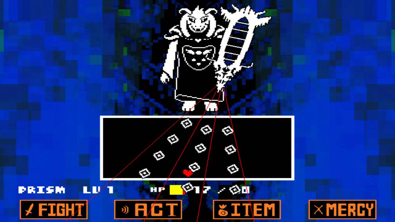 Final Boss Spoilers* Pacifist and Genocide Bosses Mother