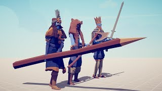 KINGS TRIO vs EVERY UNIT - Totally Accurate Battle Simulator TABS