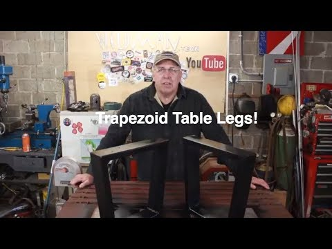 Trapezoid Coffee Table Legs!
