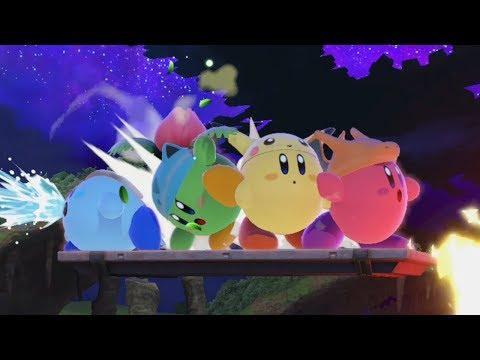 【ゲーム遊び】カービィポケモンごっこ さあゲットしに行くぜ! スマブラSP【アナケナ&カルちゃん】Super Smash Bros