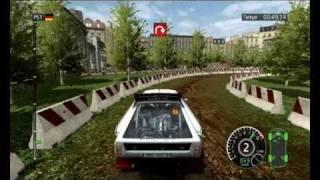 WRC FIA WORLD RALLY CHAMPIONSHIP 2010 GAMEPLAY [PC] ita - LANCIA DELTA