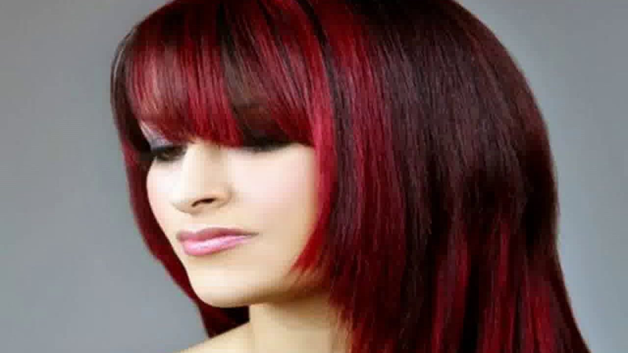Bright Red Hair Colour Ideas Youtube